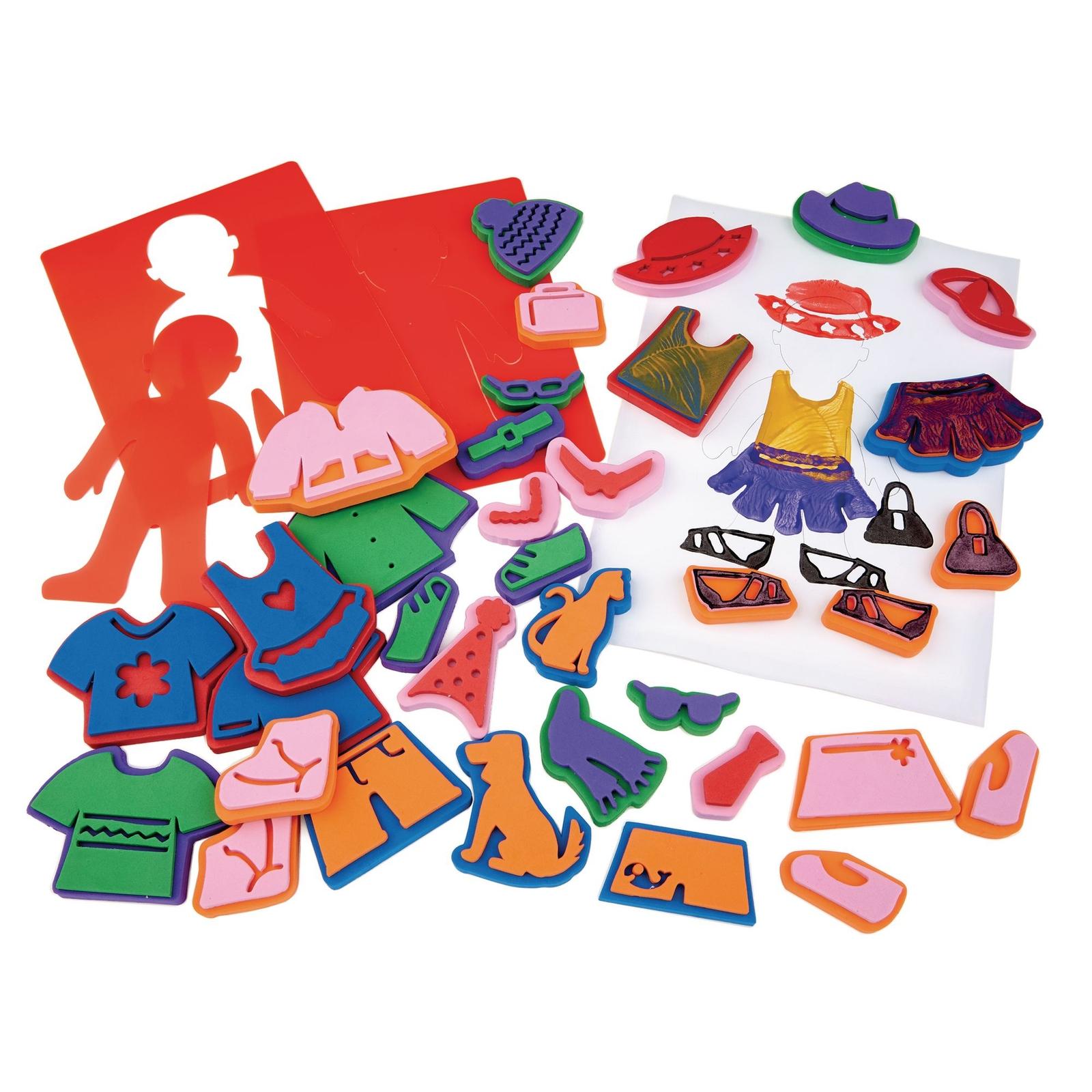 Dress Me Stamping Kit