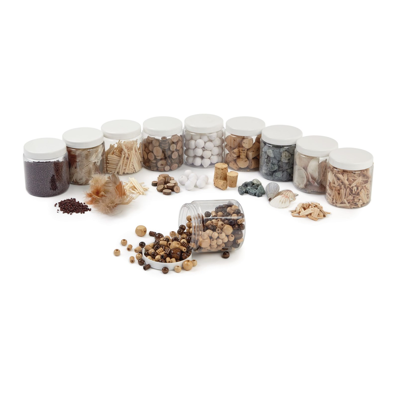Natural Materials Collage Set Pack of 10