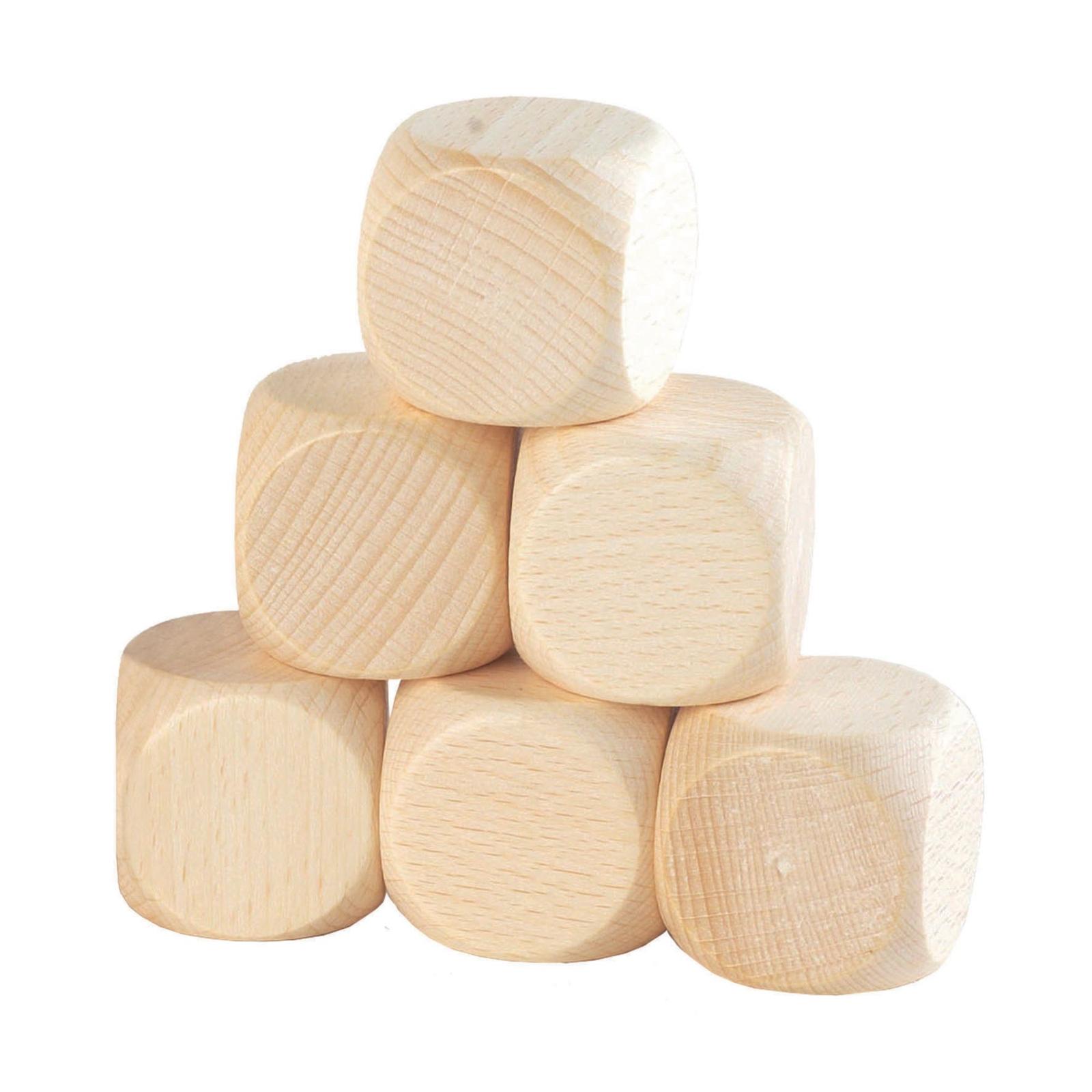 Beech Wood Cubes