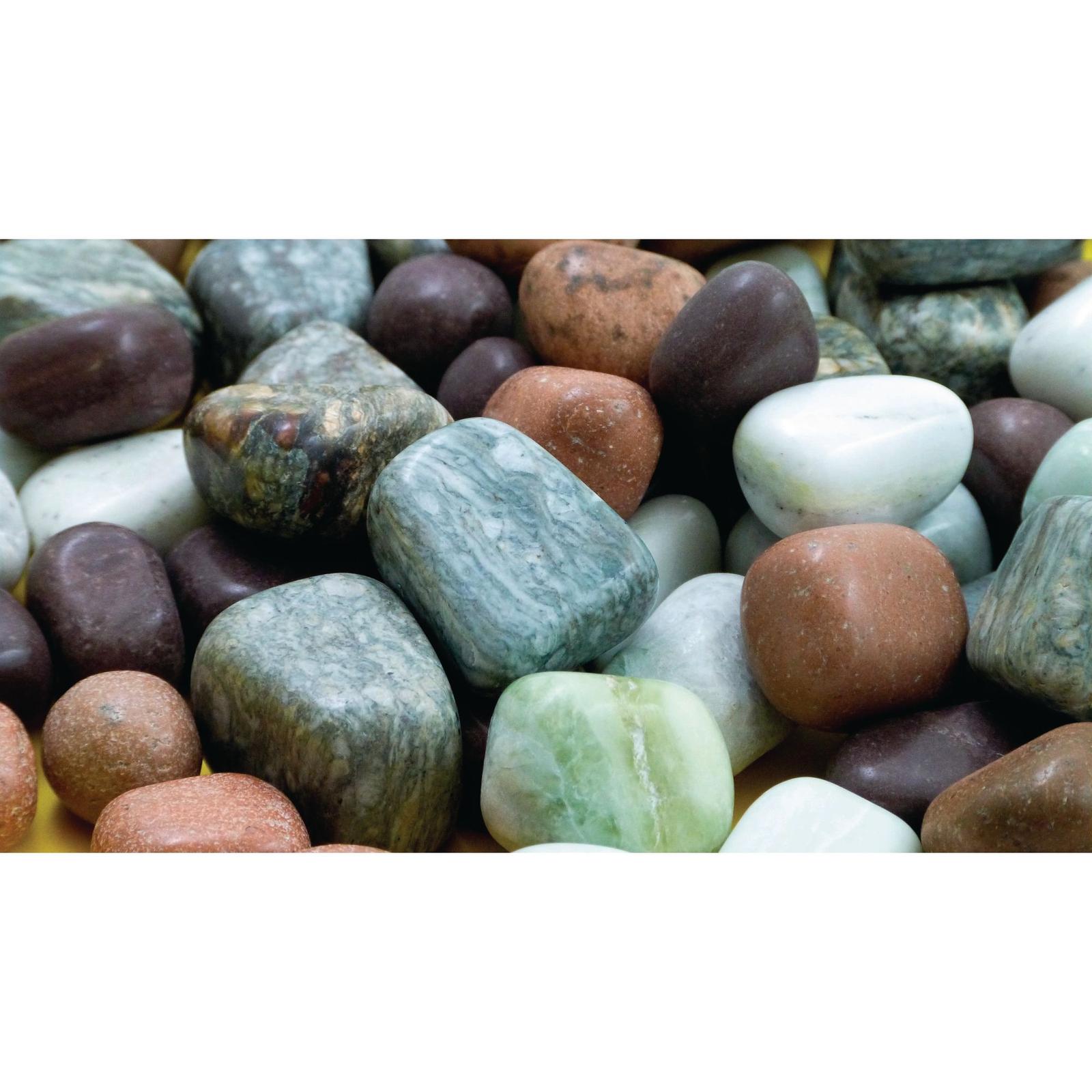 Assorted Coloured Pebbles 1kg
