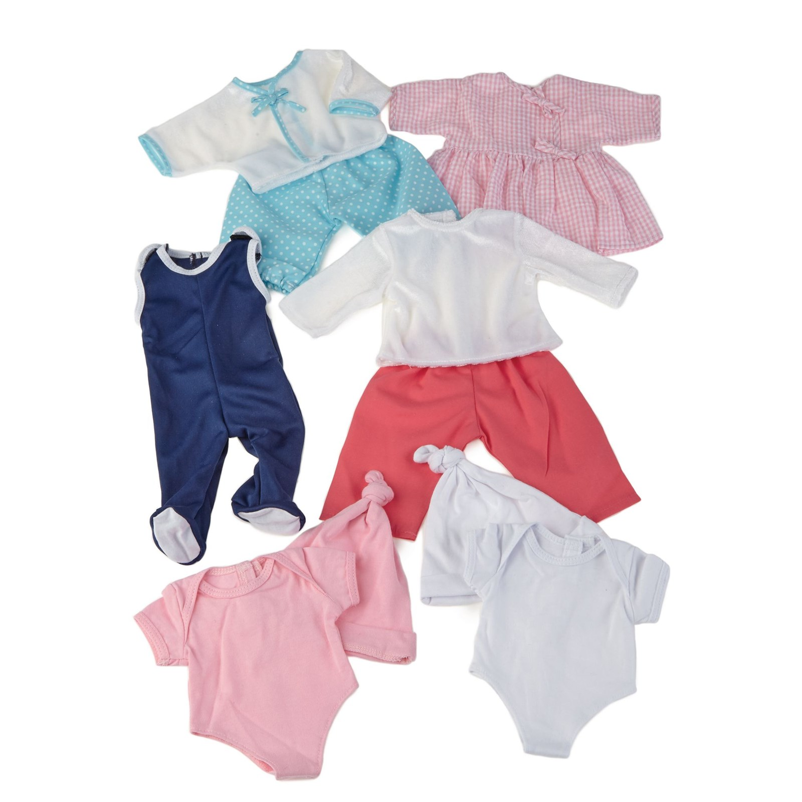 Baby Doll Clothes Pack of 6