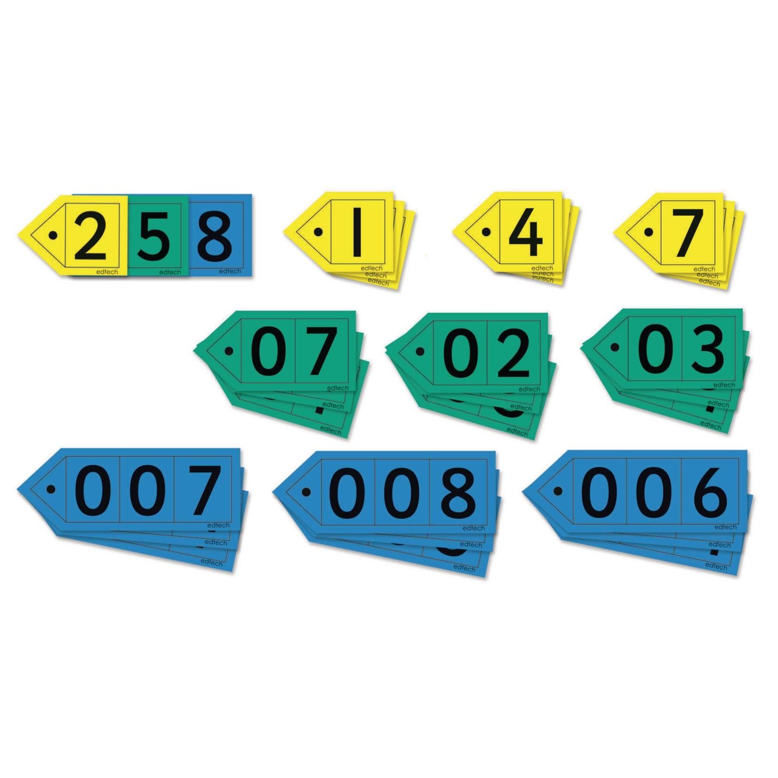 Decimal Place Value Arrows - Teacher