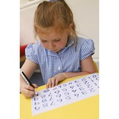 0-9 Number Tracing Boards