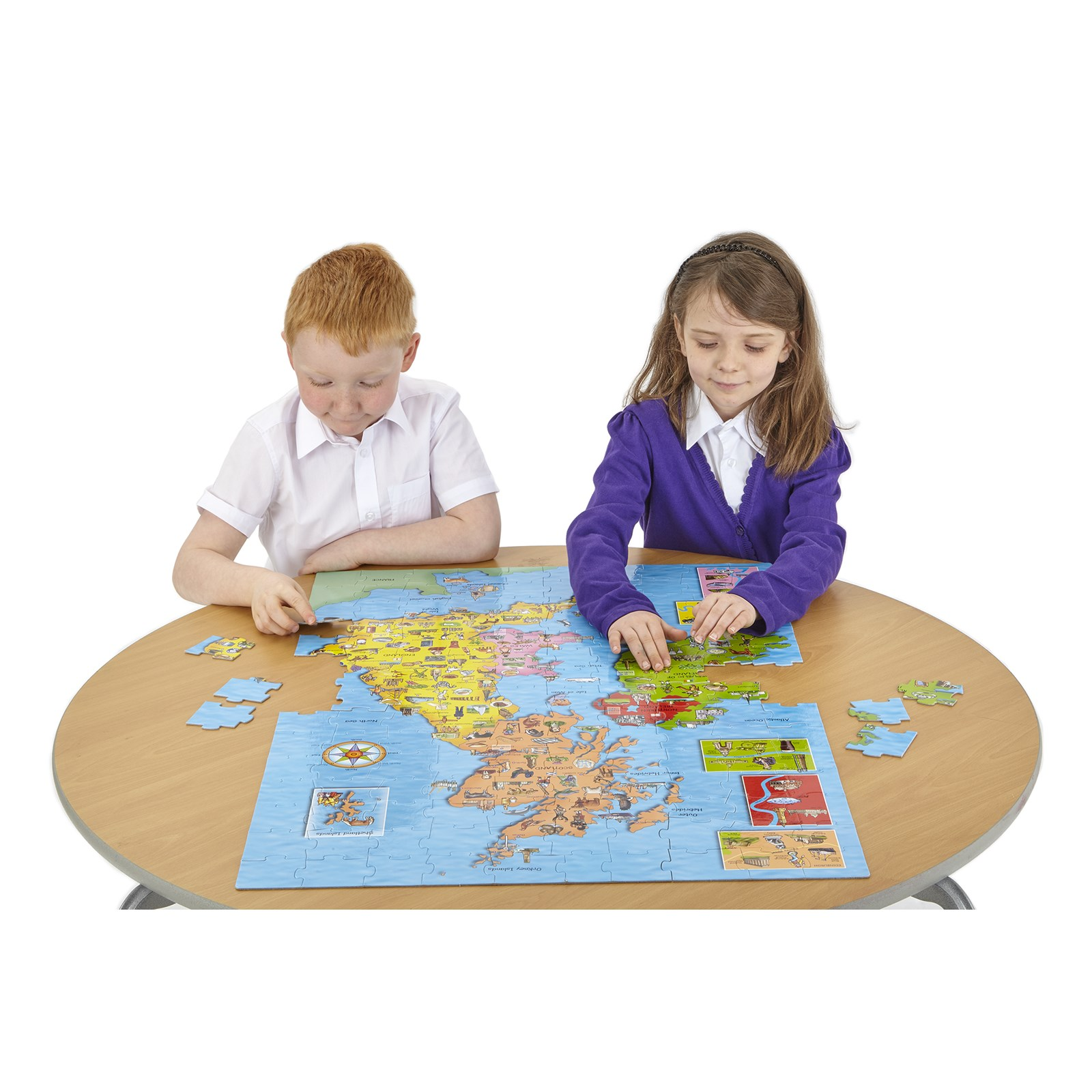 Great Britain and Ireland Puzzle and Poster
