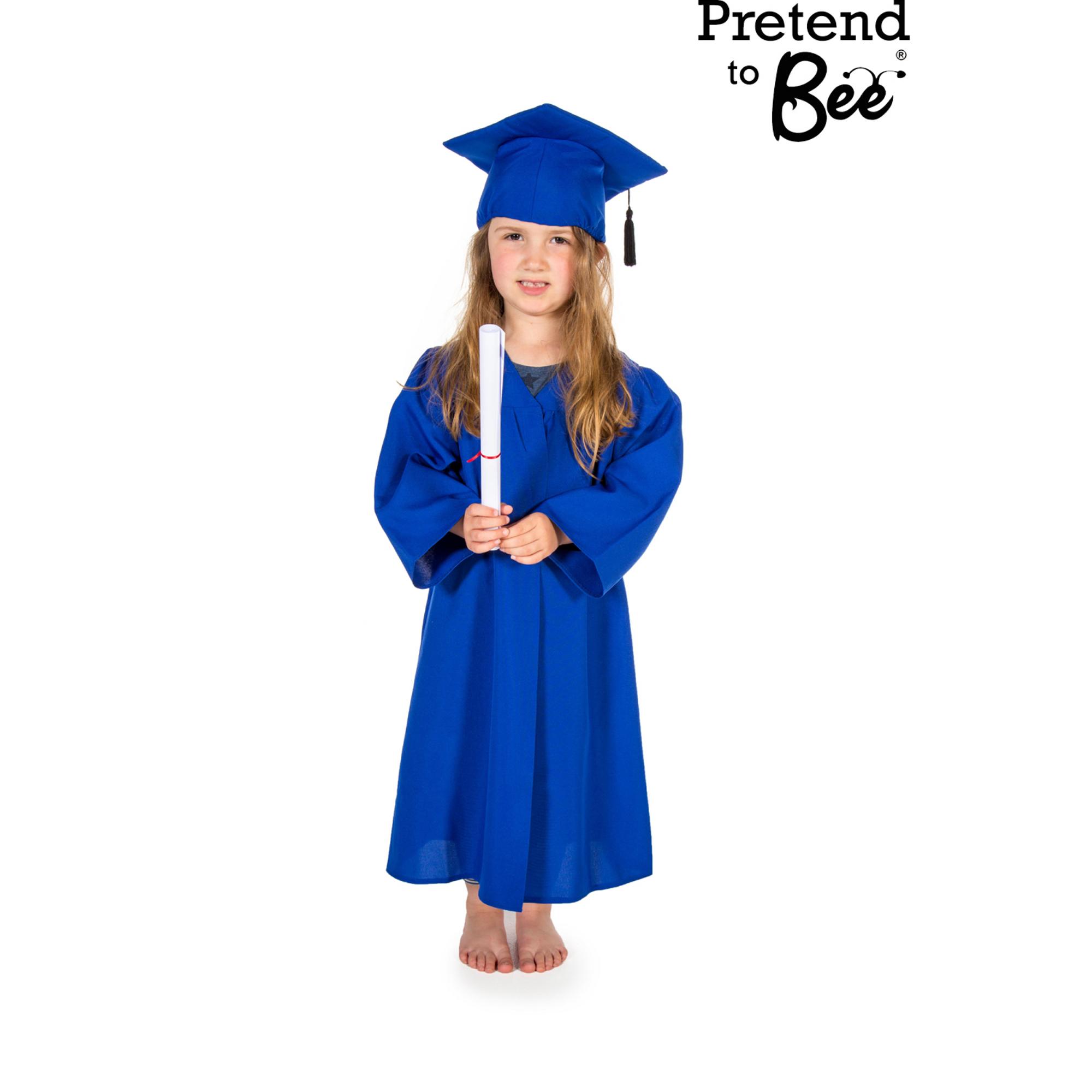 Blue Graduation Gown
