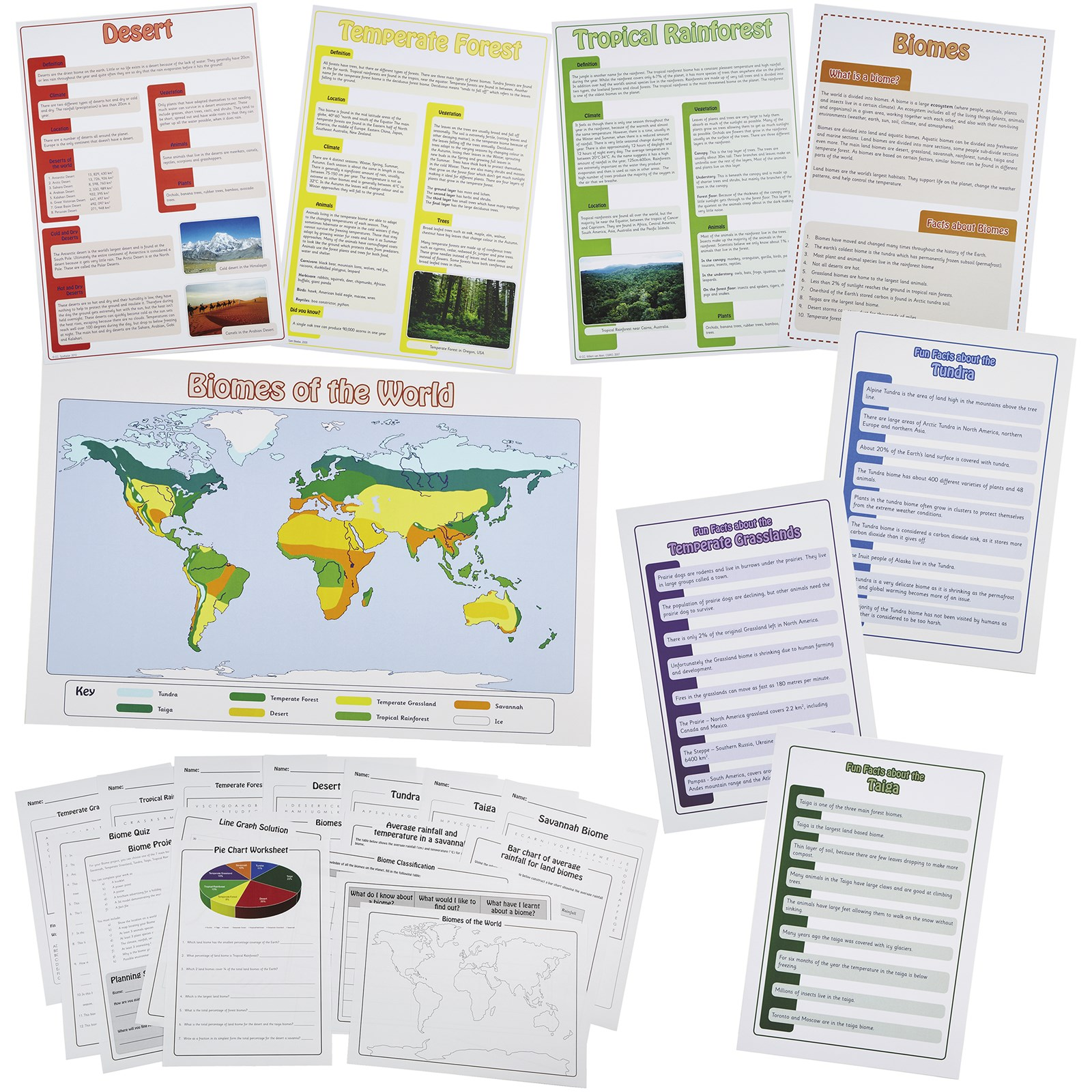 Biomes Resource and Display Pack