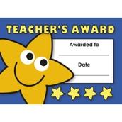 Teacher's Award Mini Certificates