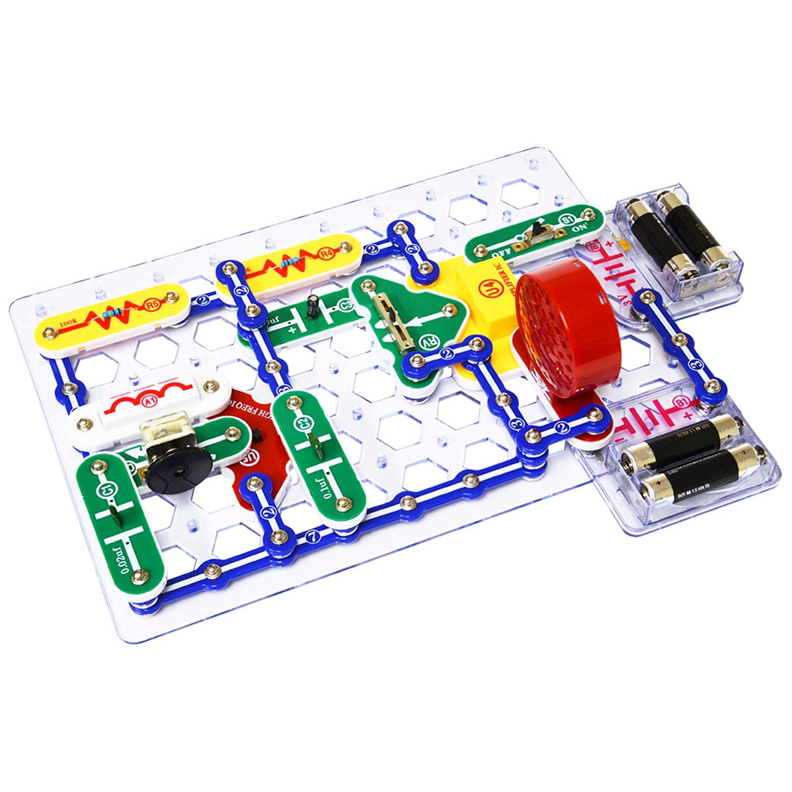 Product Findel International New Projects In Electronics Snap Circuits 300 Kit