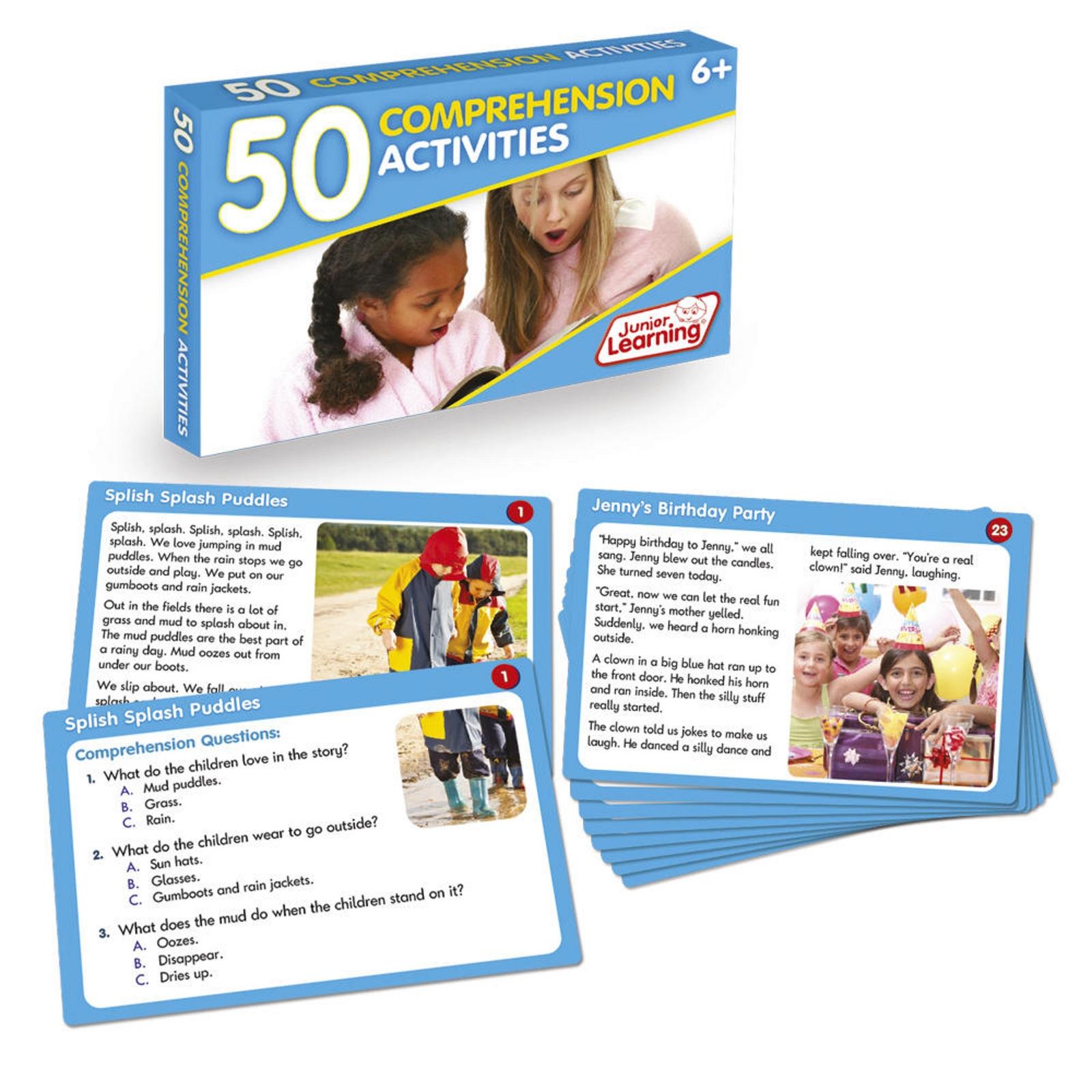 50 Comprehension Cards
