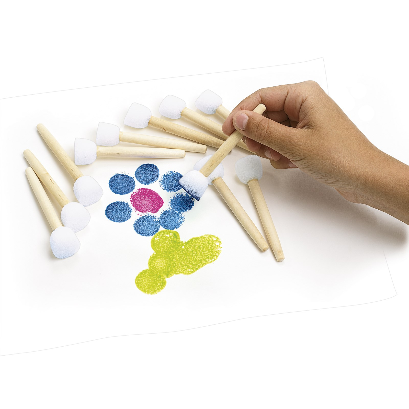 Paint-A-Dot Brushes