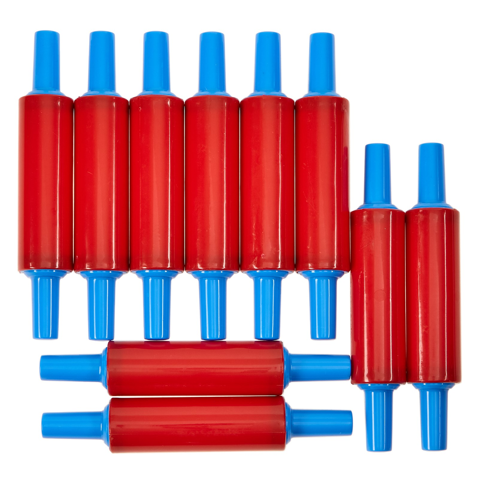 Plastic Rolling Pins Pack of 10