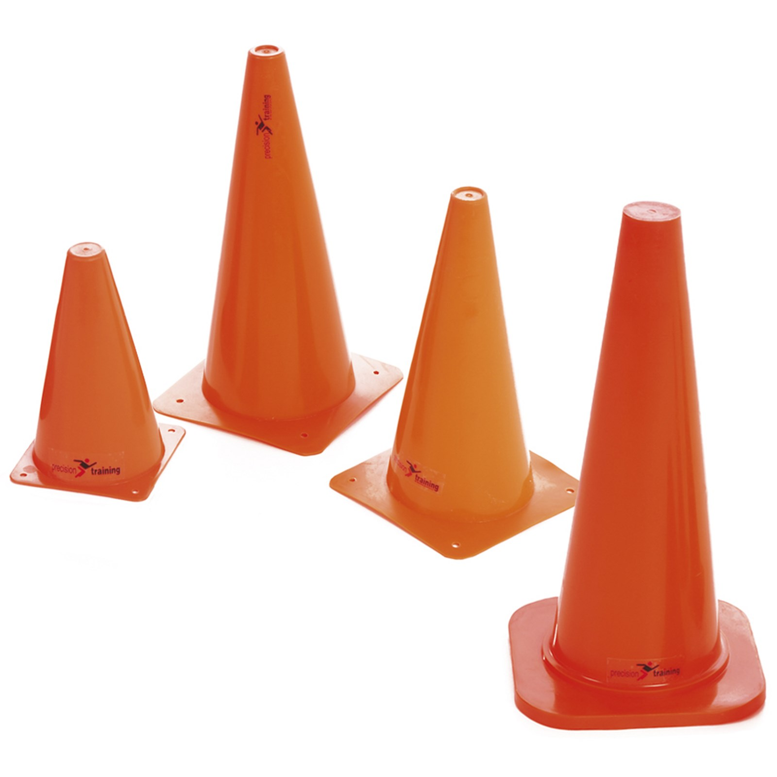 Precision 12inch Traffic Cones Pack of 4