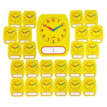Classroom Write-On Wipe-Off Clock Pack