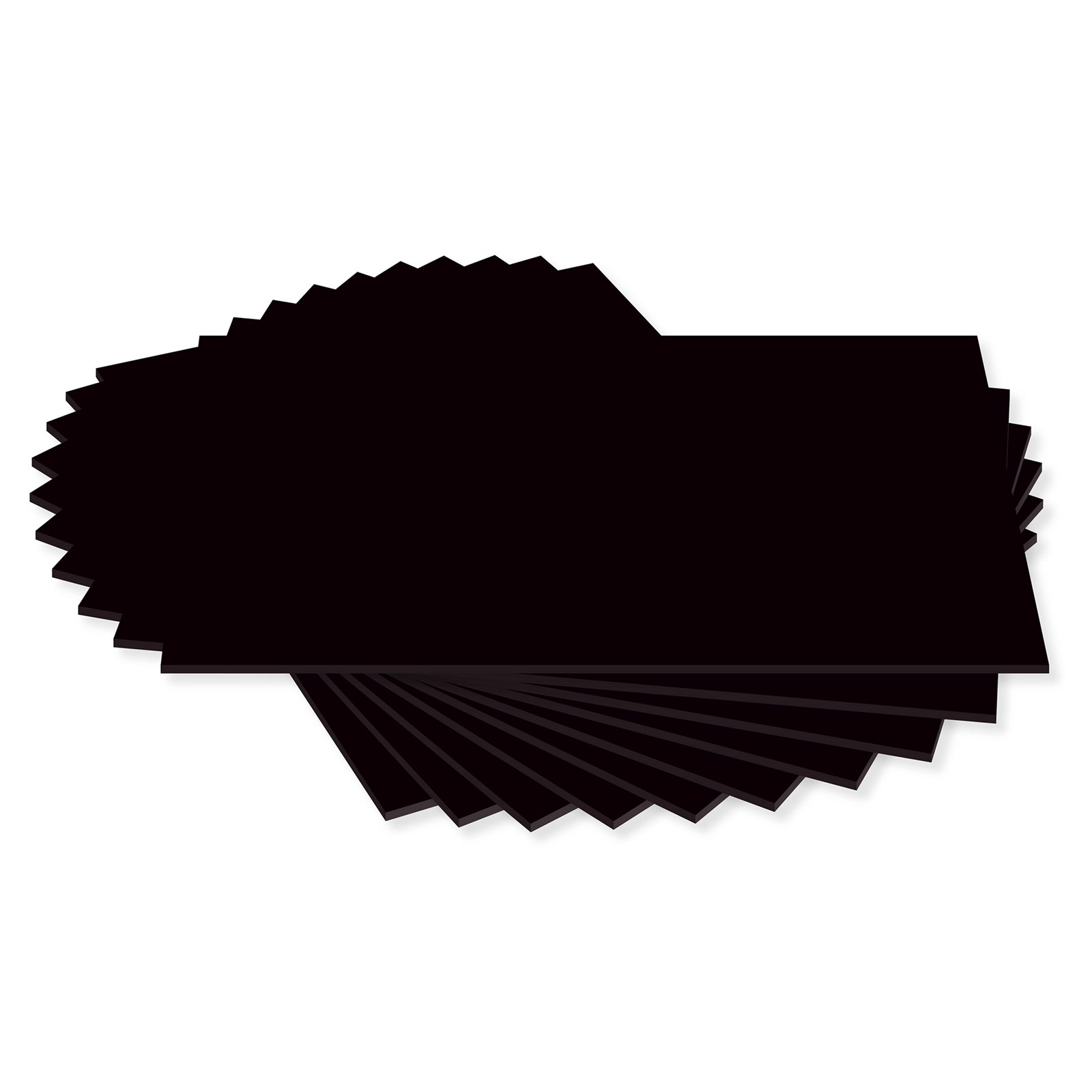 Black Card 280 Microns A4 Pack Of 100