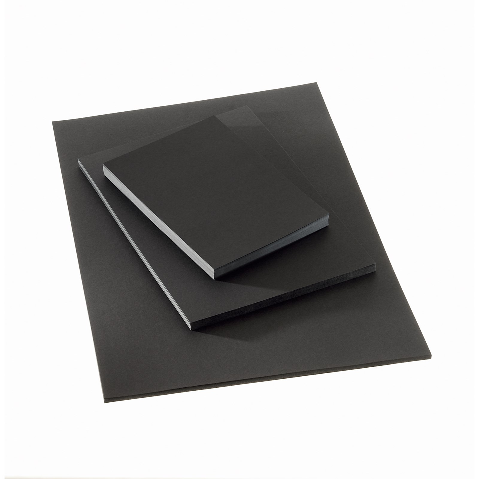 Black Card Medium Weight 280 micron A1 Pack Of 25