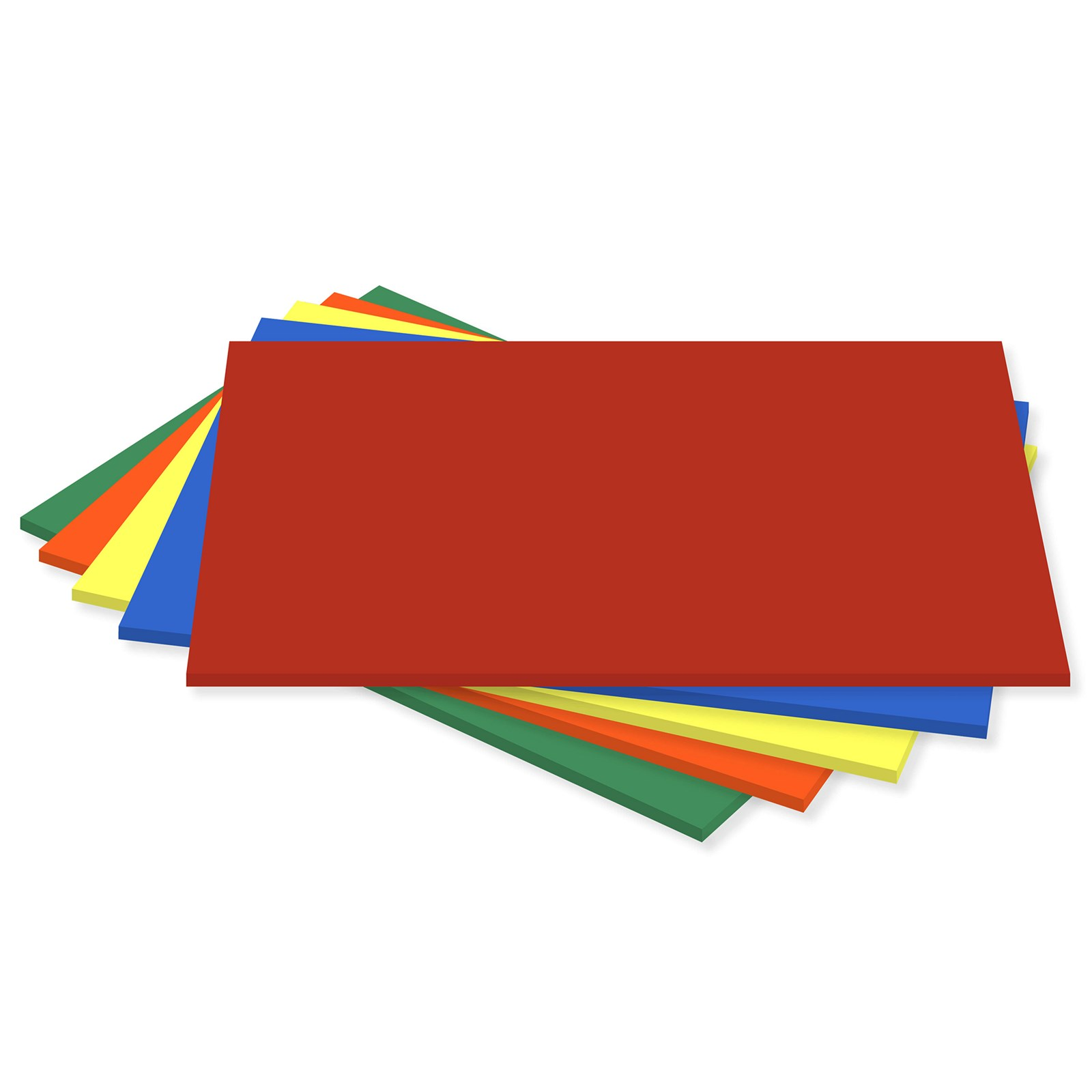 Coloured Card Assorted Sra2 Pack Of 25
