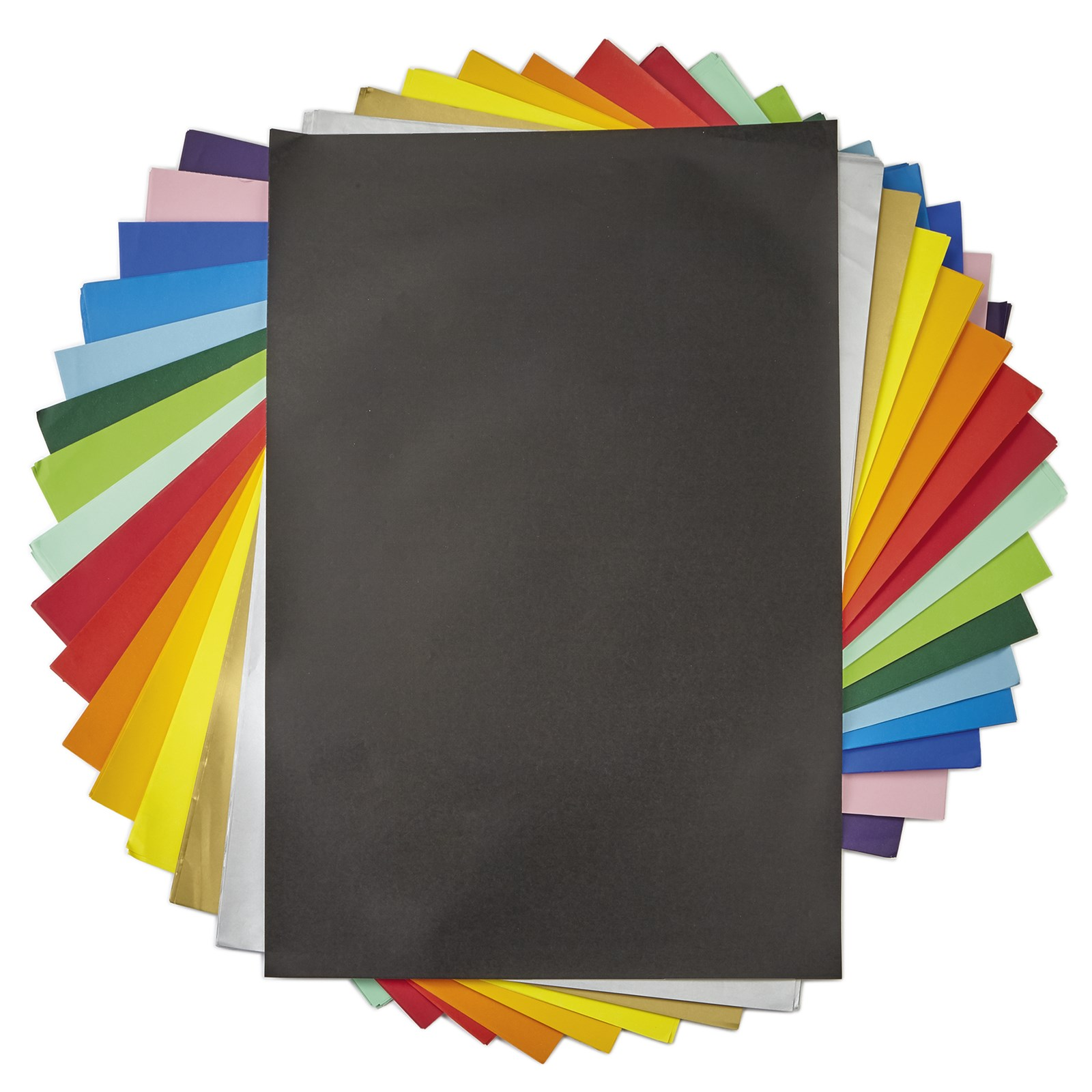Poster Paper A4 Black Pack Of 100   Hope Education