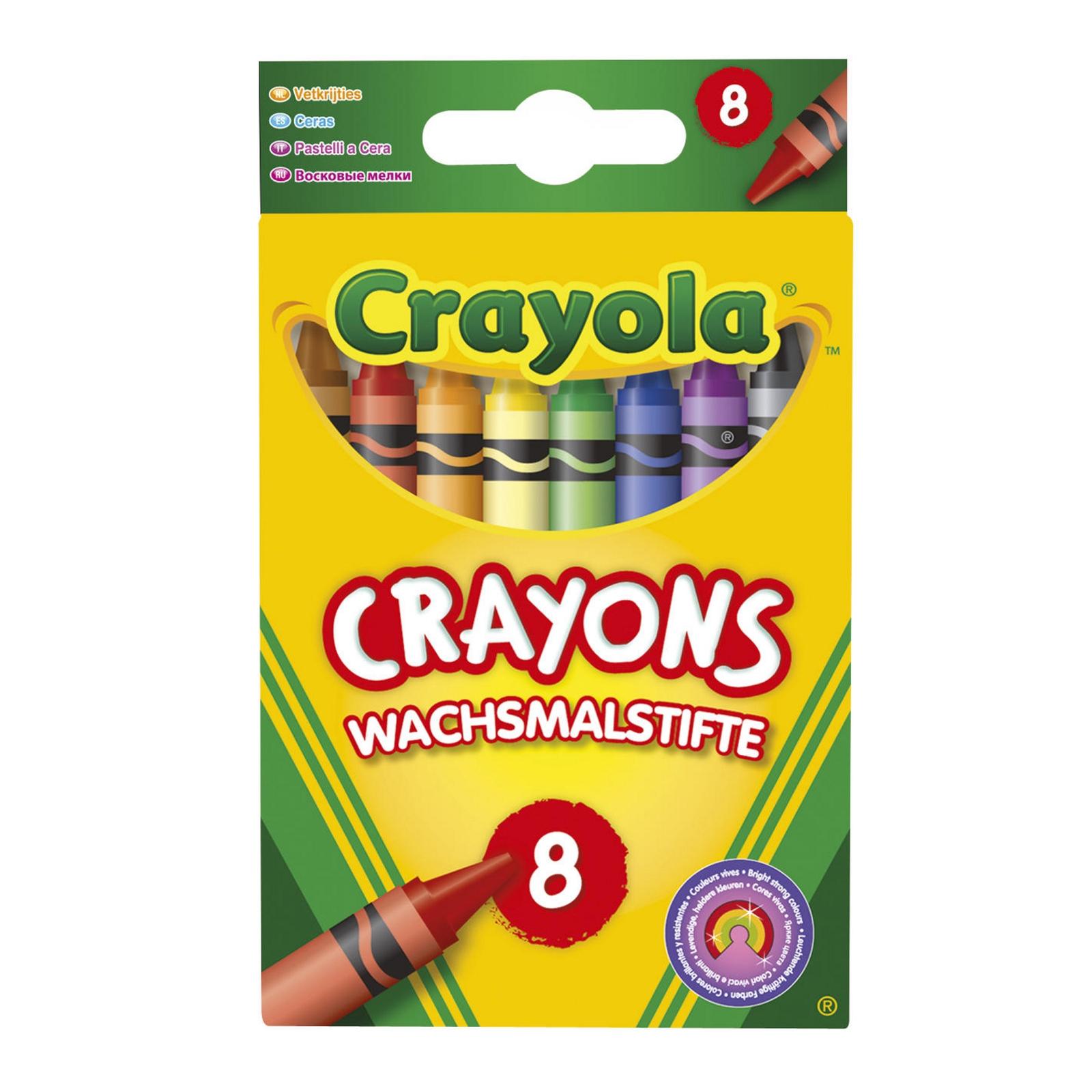 Crayola Crayons Pack of 8