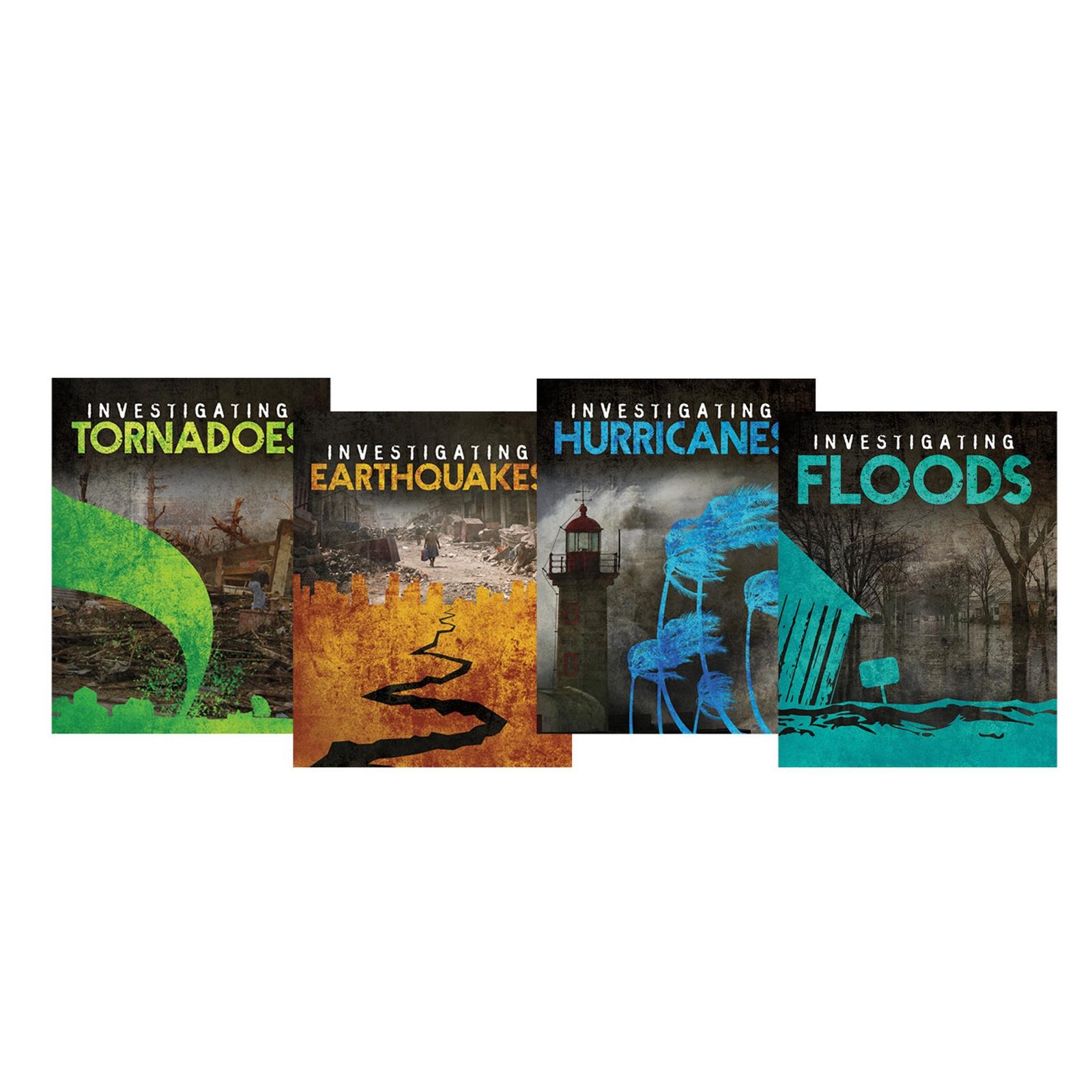 Investigating Natural Disasters Book Pack