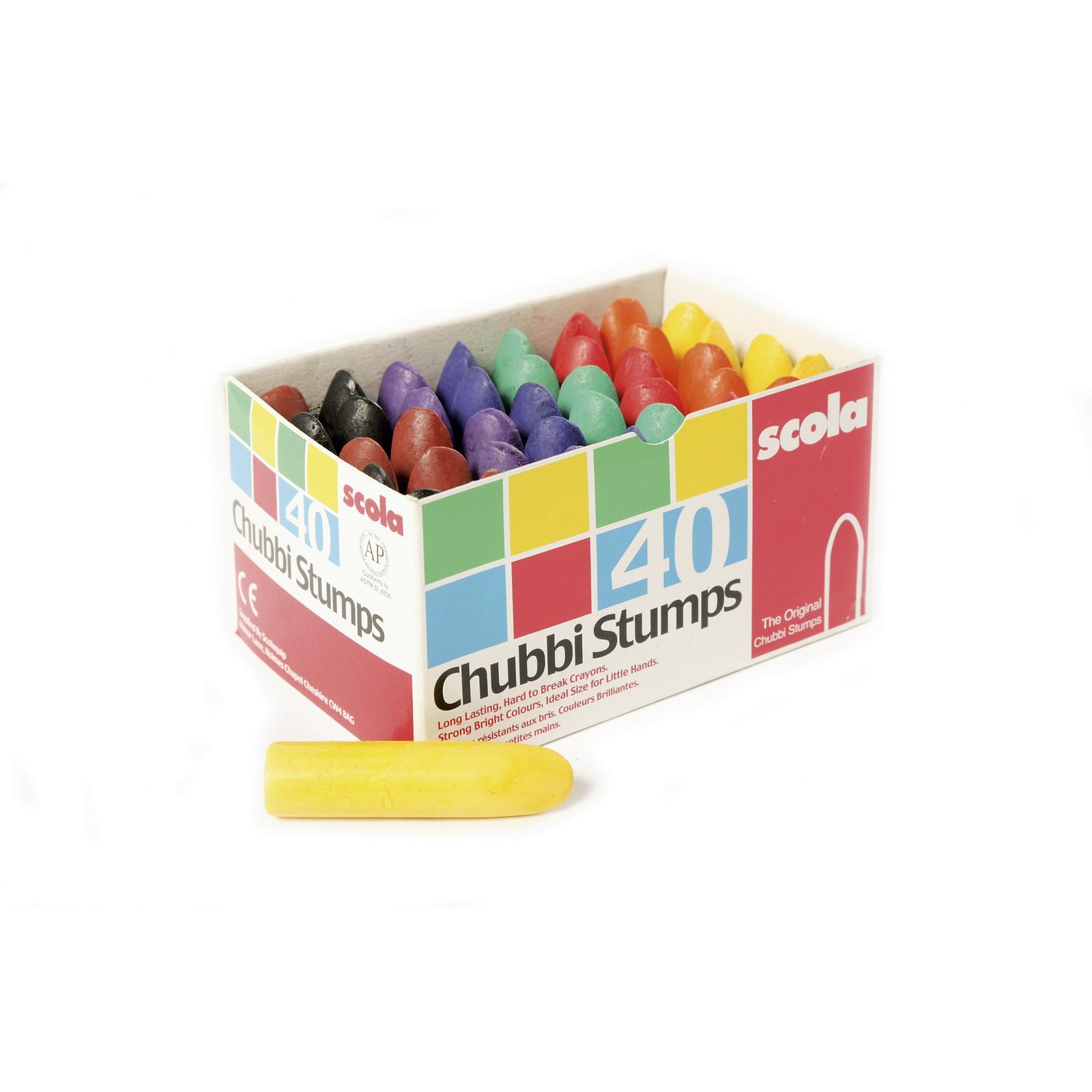 Chubbi Stumps - Pack of 120