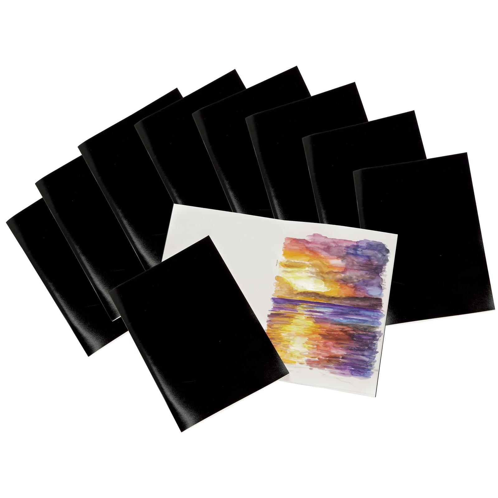 A4 Laminated Sketchbooks Pk20