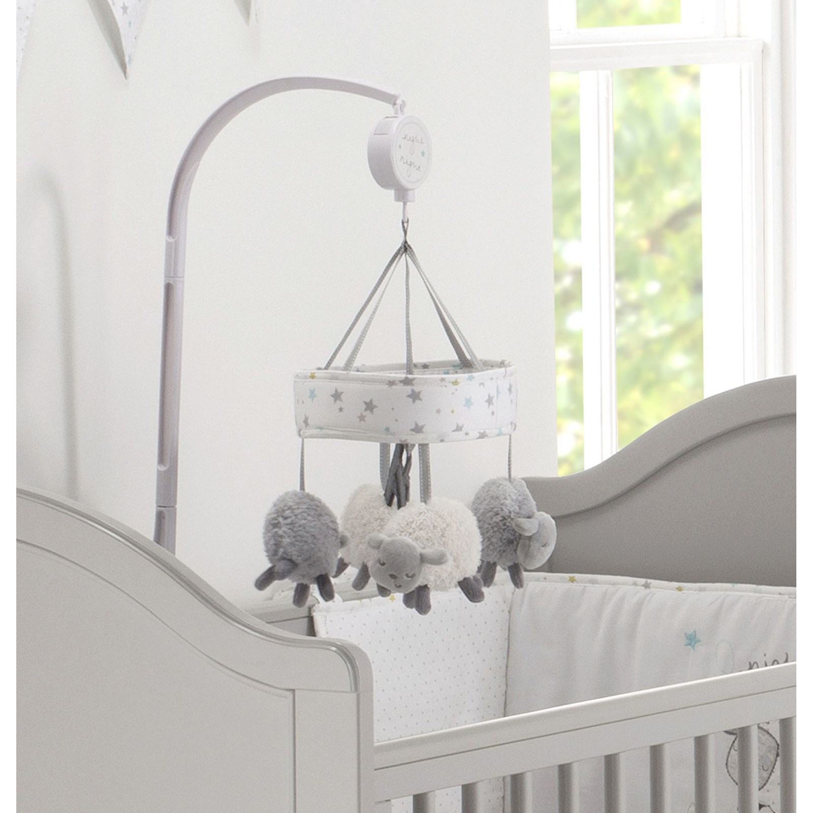 Counting Sheep Musical Cot Mobile