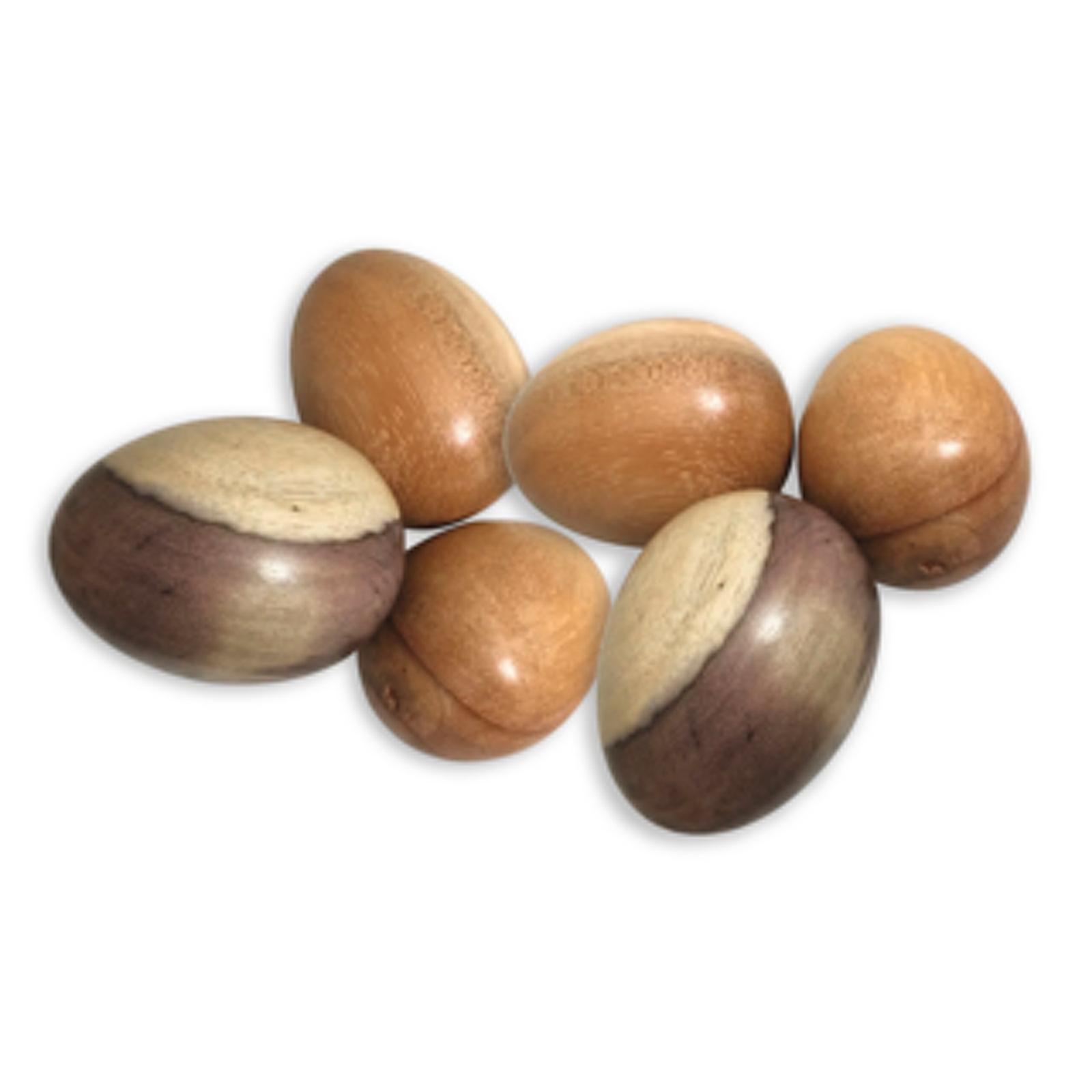 Wooden Sensory Egg Set