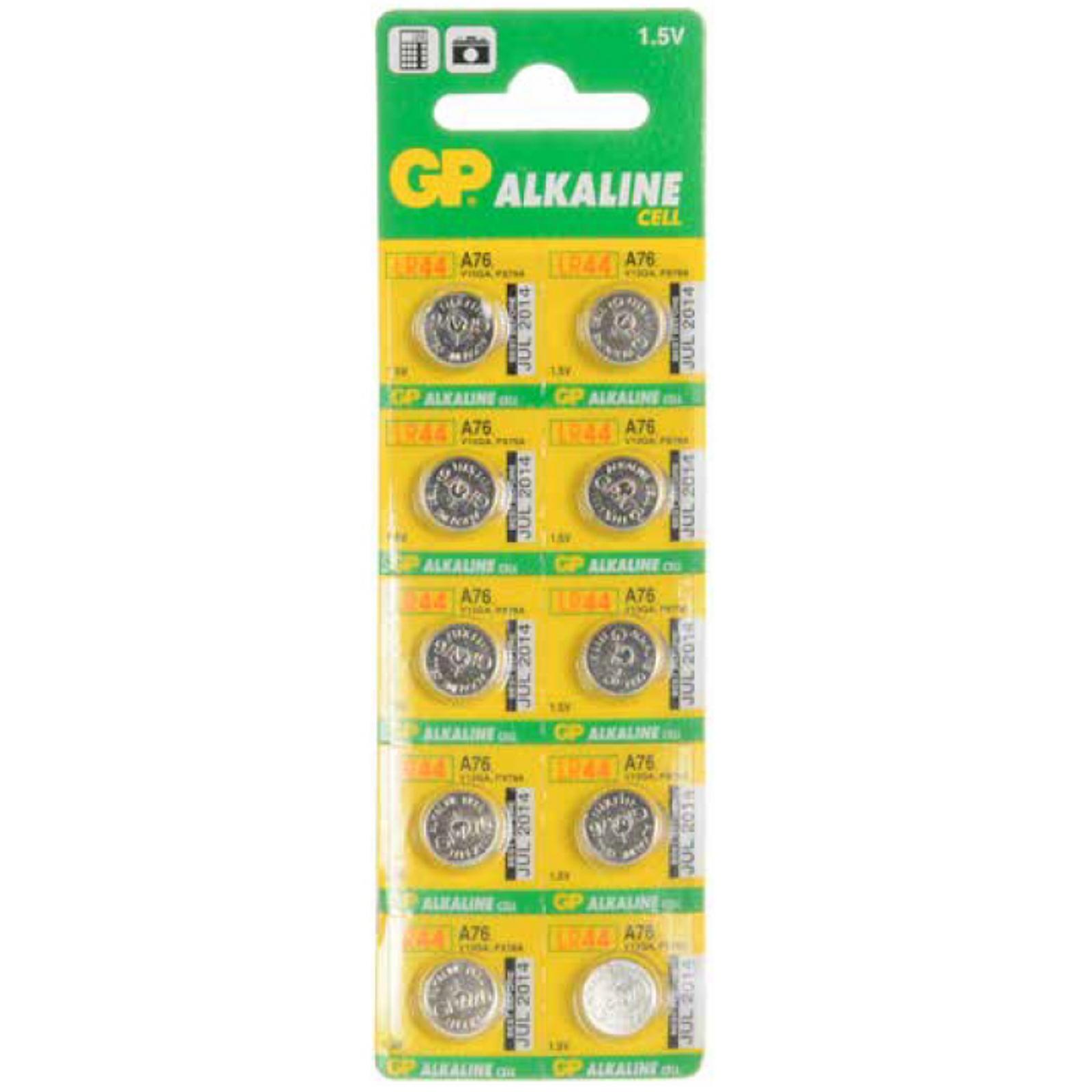 Button Cell Alkaline Battery LR44