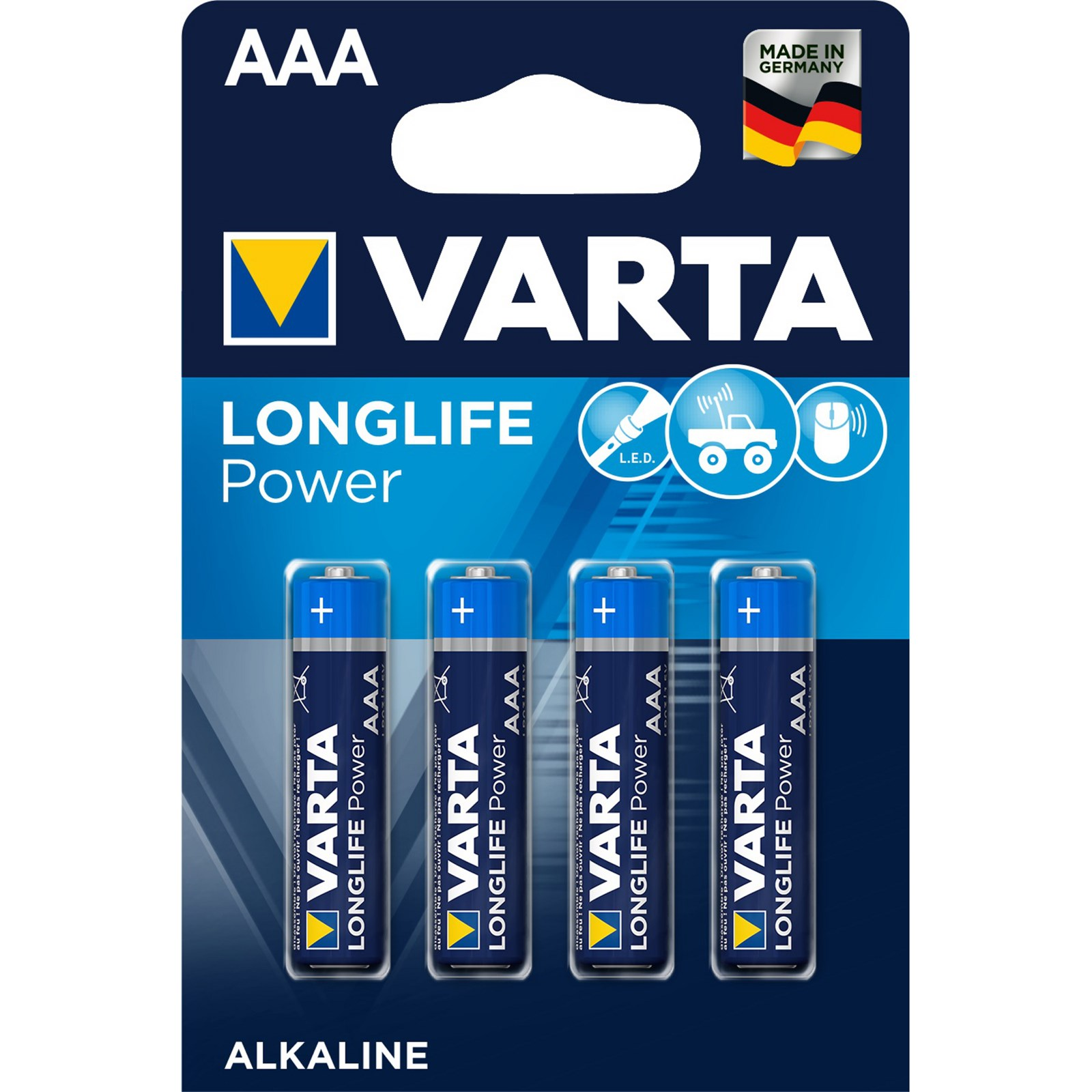Battery Alkaline Manganese Size Aaa