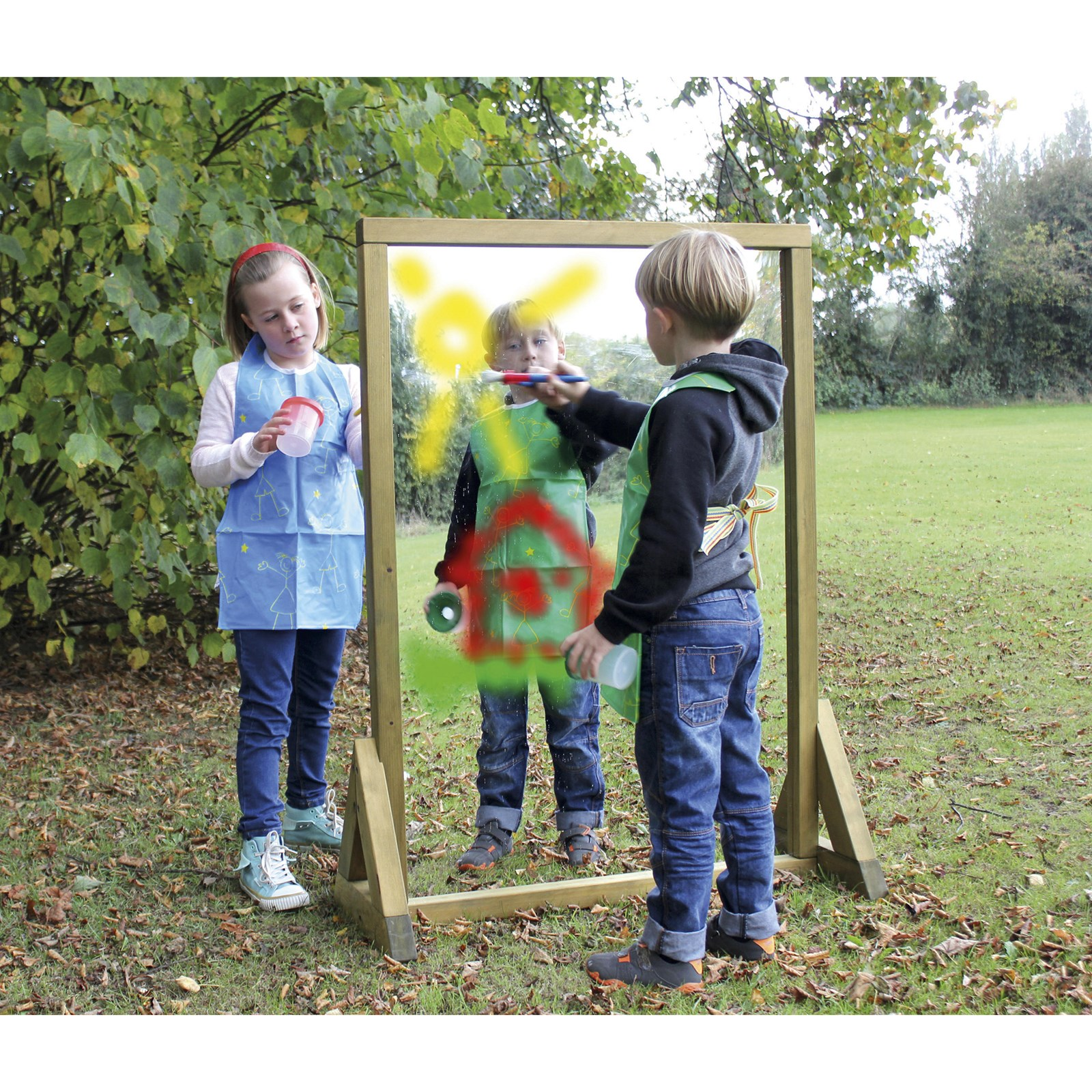 Outdoor Painting Mirror