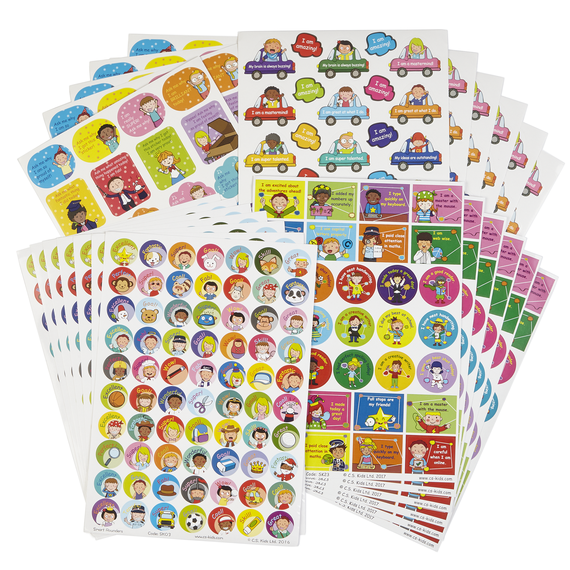 Mega pack of primary stickers gls educational supplies