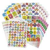 Mega Pack of Primary Stickers