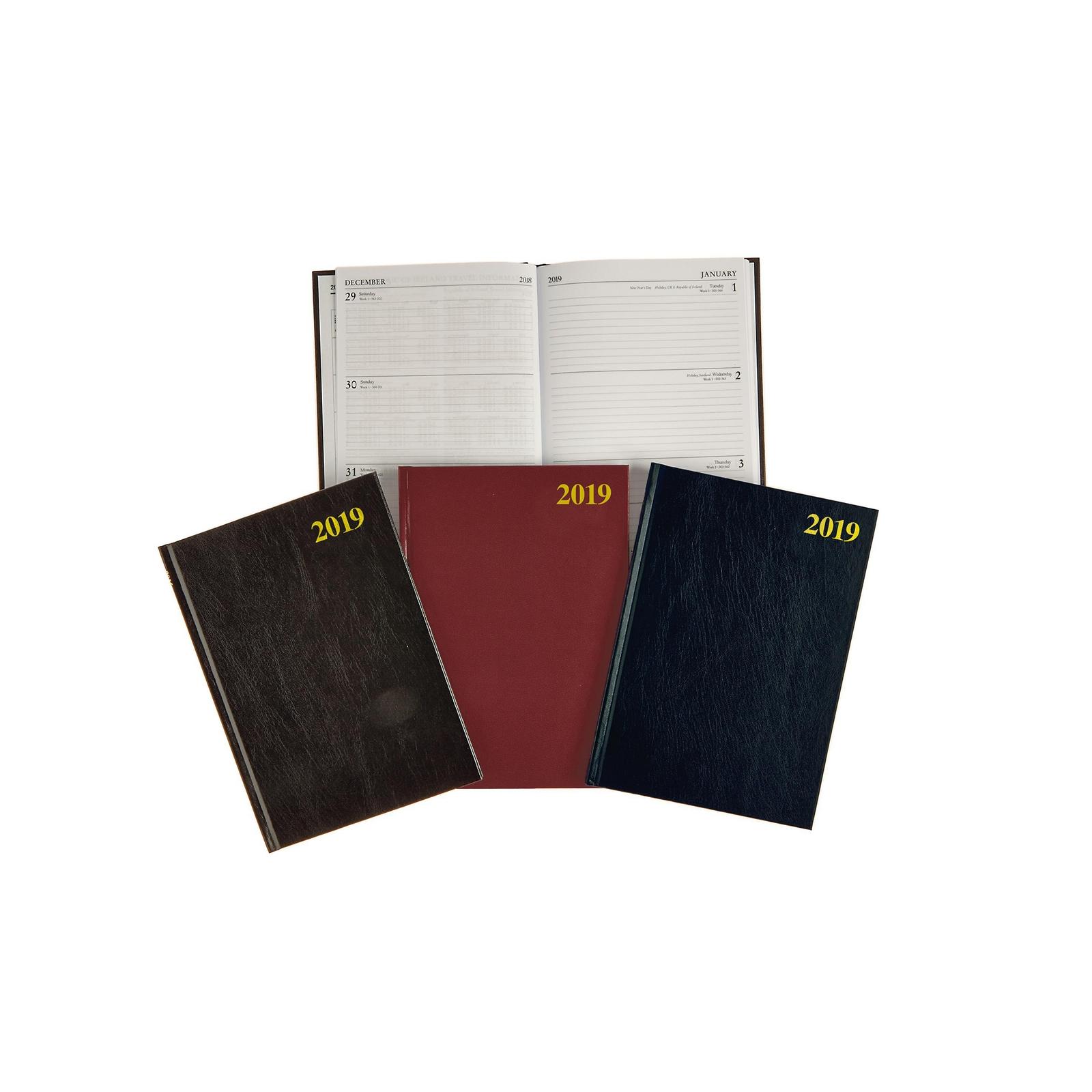 A5 Week View Calendar Diary Black - 2020