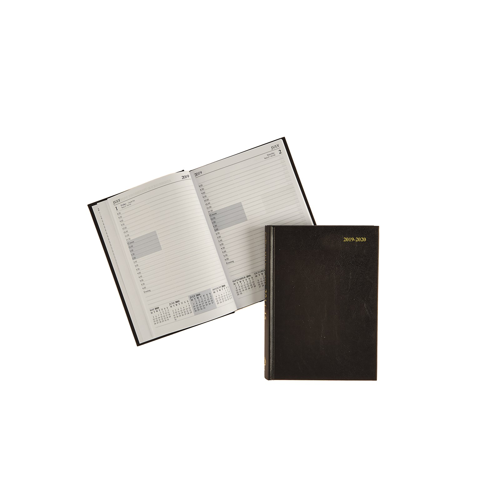 Classmates A5 Day Per Page Academic Diary Black