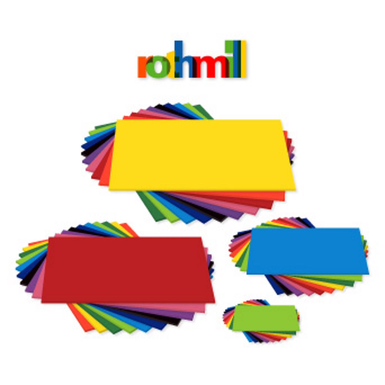 Rothmill Vivid Yellow 280 Microns A4 Pack of 50