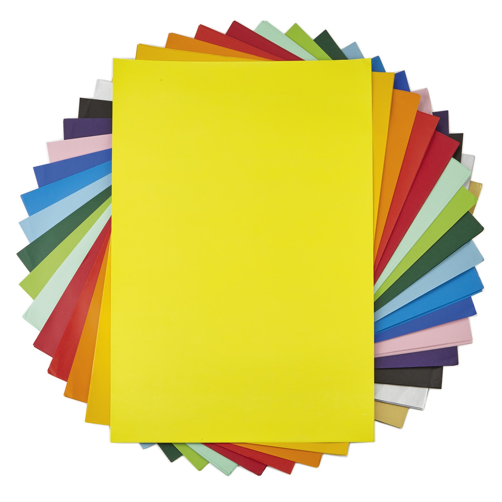 Poster Paper A3 Yellow Pack of 100