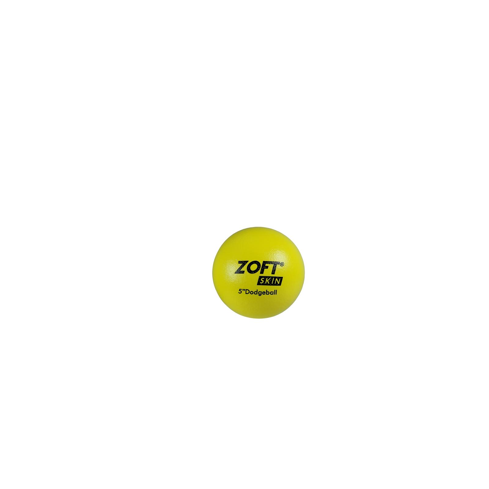 Zoftskin Dodgeball - Size 5 - Yellow