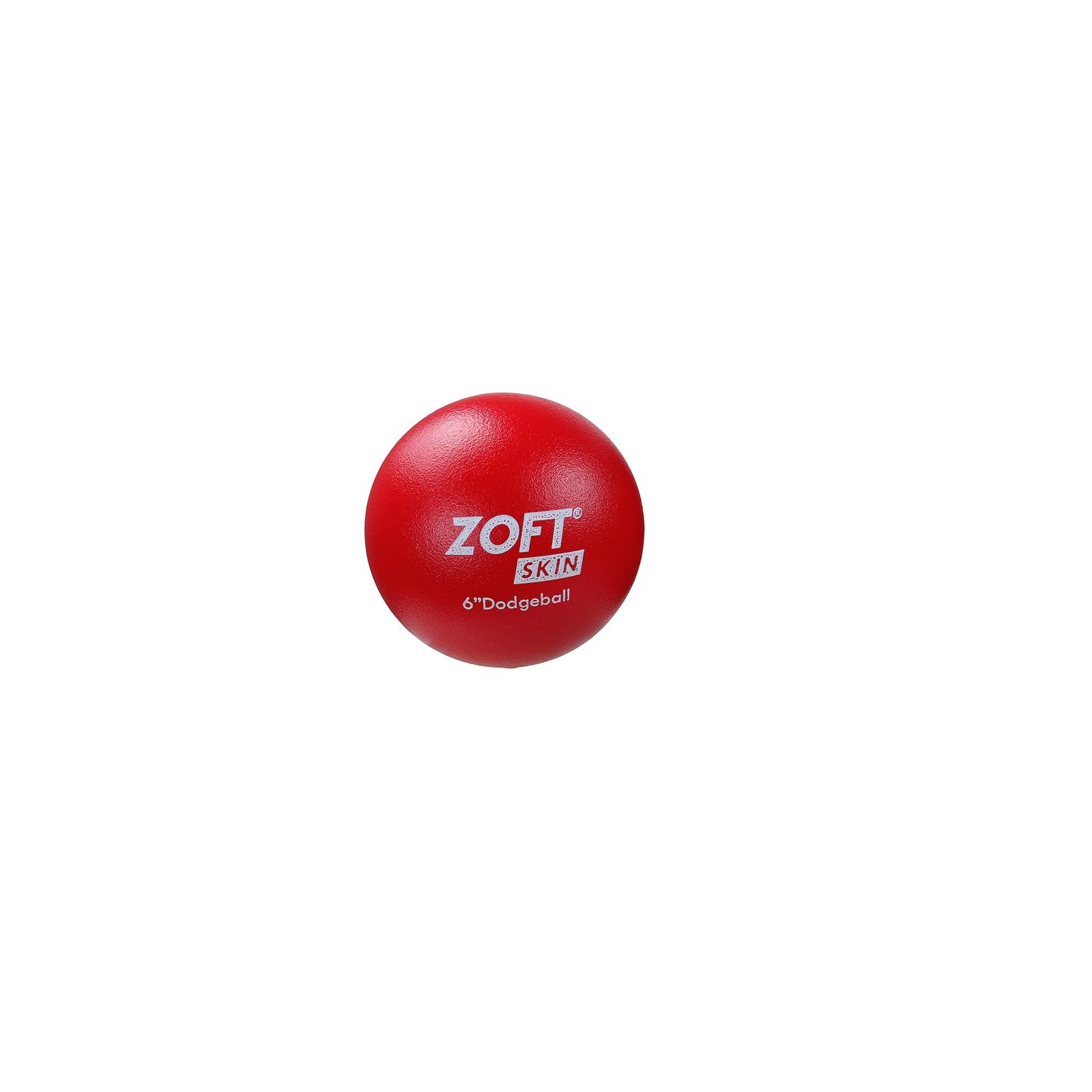Zoftskin Dodgeball - Size 6 - Red