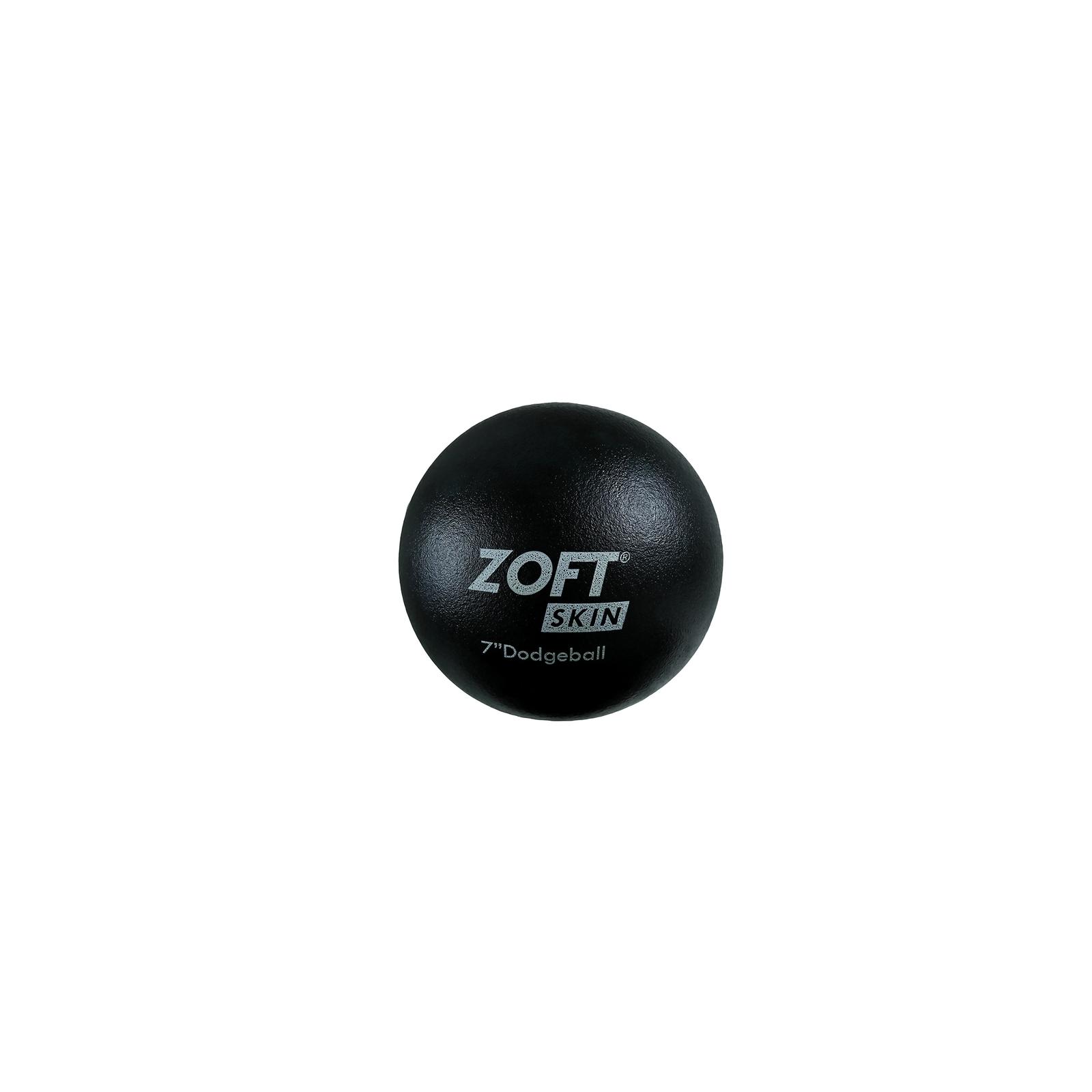 Zoftskin Dodgeball - Size 7 - Black