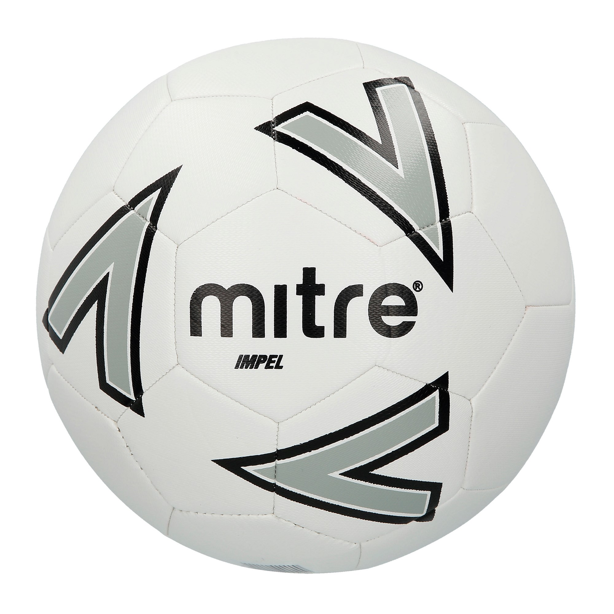 Mitre Impel Football - Size 5 - White/Silver/Black