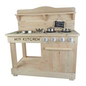 Outdoor Wooden Mud Kitchen