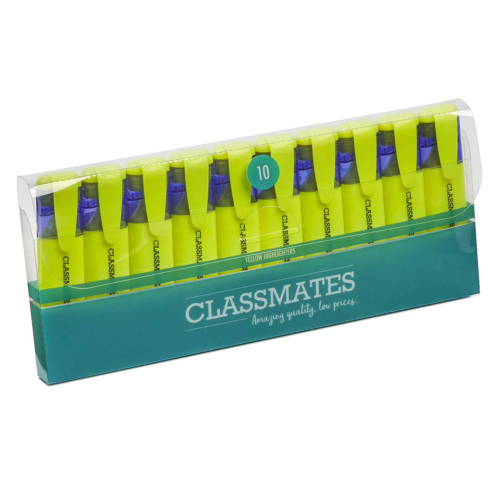 Classmates Highlighter Yellow - Pack of 10
