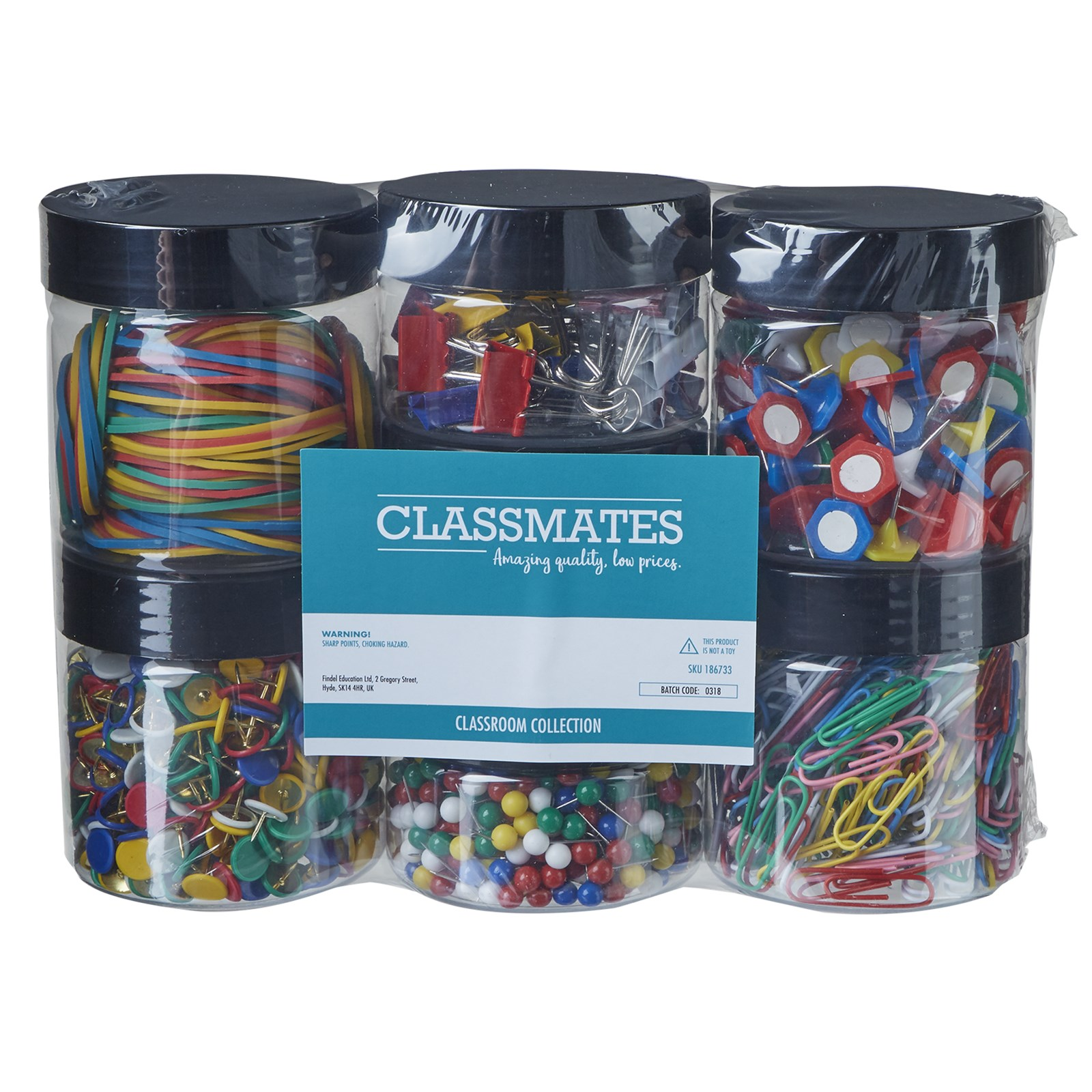 Classmates Stationery Pack - Pack of 6