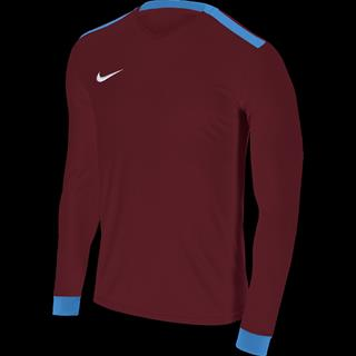 147d04e6 University Red & Blue Nike Park Derby Youth Long Sleeve Football Shirt:  32-34in (XL)