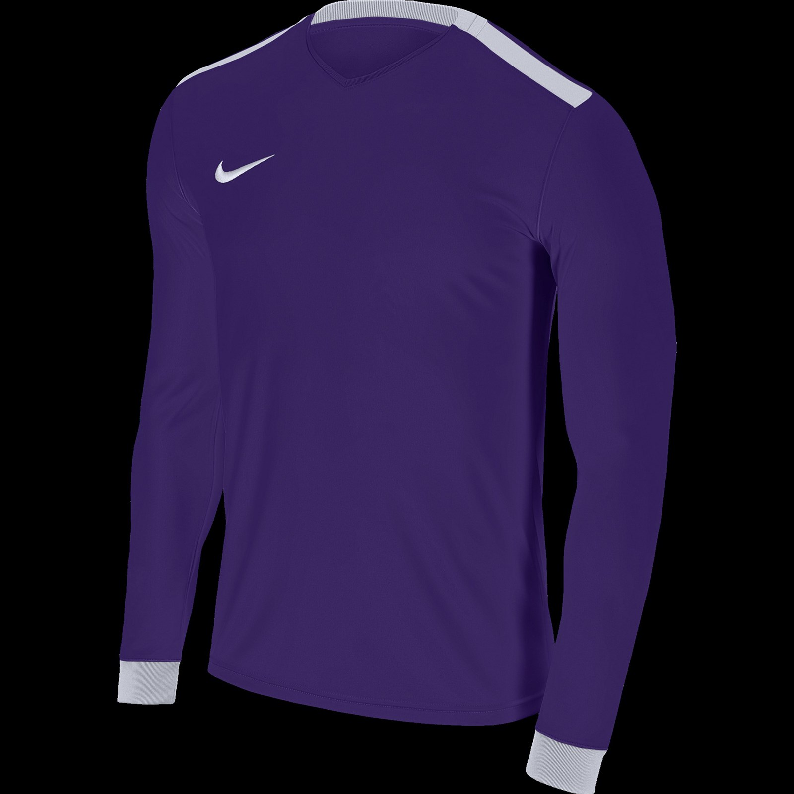c7129509 Court Purple & White Nike Park Derby Adult Long Sleeve Football Shirt:  36-38in (M)