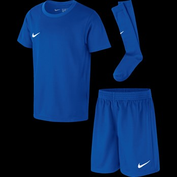detailed images cheap prices cheap price Nike® Kids Park Derby Kit - Blue/White - 7- Years