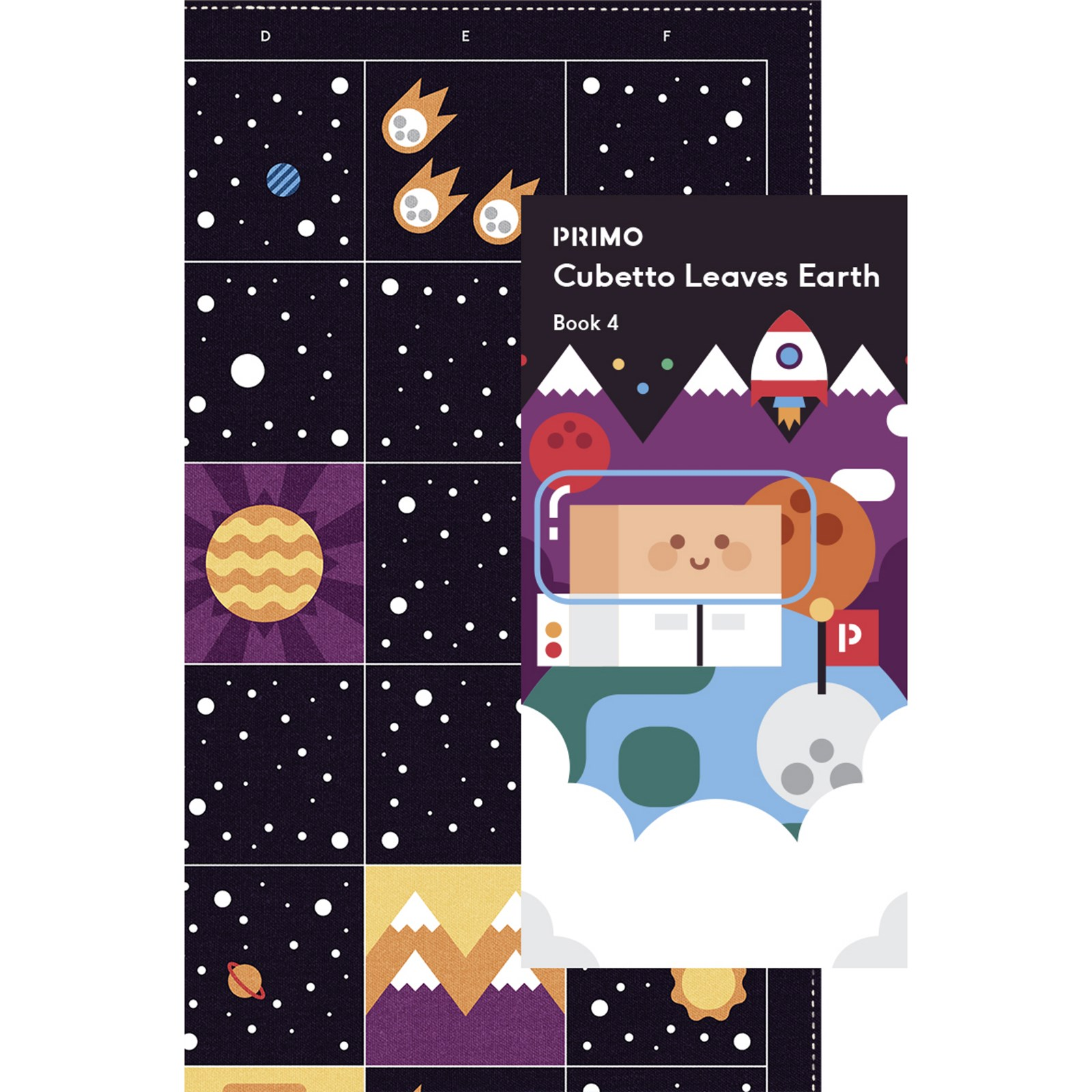 Cubetto Deep Space Adventure Map from Primo Toys