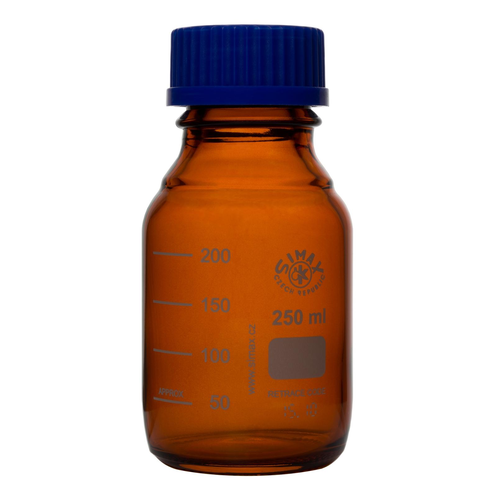 Simax Reagent Bottle Amber 250ml