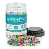 Metallic Beads Bumper Pack of 1000