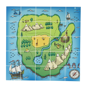 E.a.R.L Treasure Island Map Mat from Hope Education ...